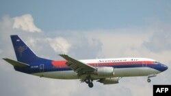 «Sriwijaya Air» аба жолдору компаниясынын башка учагы. 2013-жылдын 18-марты.