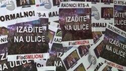 Deseti protest 'Jedan od pet miliona' u Beogradu