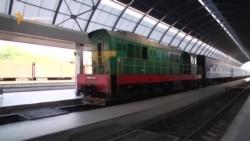 Cu trenul sovietic în UE