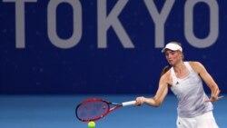 Теннисші Рыбакина әлемнің экс-бірінші ракеткасын жеңіп, олимпиаданың 1/2 финалына өтті