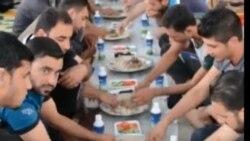 مأدبة افطار في جامعة سامراء