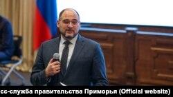 Исполняющий обязанности мэра Владивостока Константин Шестаков