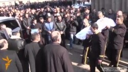 Infant Victim Of Family Massacre Buried in Armenia