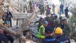 Рятувальні операції після сильного землетрусу в Албанії – відео