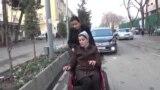 Когда прогулка испытание. Люди в колясках на улицах Душанбе