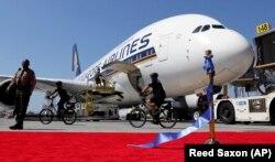 ایرباس ۳۸۰ خطوط هوایی سنگاپور