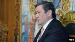 Намбарын Энхбаяр, бывший президент Монголии. Улан-Батор, 12 июня 2009 года.