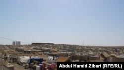 Cириялык качкындардын Ирактагы лагери.