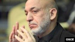 Президент Афганистана Хамид Карзай.