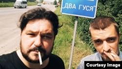 Валентин Роженцов (слева) и Алексей Стетюха