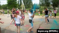 Детский праздник, Симферополь. Иллюстрационное фото