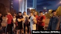 Спортсмены, которые участвовали в разгоне акции против строительства храма Святой Екатерины в Екатеринбурге
