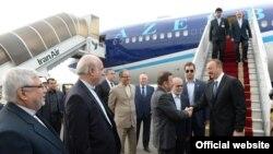 Prezident İlham Əliyev Tehranda