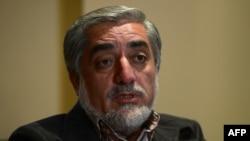 Afghan presidential frontrunner Abdullah Abdullah