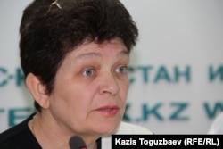 Ольга Понкратьева, житель поселка Фабричный Жамбылского района Алматинской области.