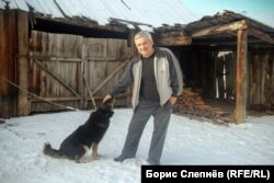 Александр Рудых, скитавшийся по тайге