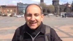 Գյումրիից մեկնարկեց Նիկոլ Փաշինյանի բողոքի քայլերթը՝ ընդդեմ Սերժ Սարգսյանի հետագա իշխանավարման