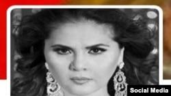 Узбекская исполнительница Озода Нурсаидова