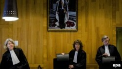 The Dutch panel of judges ruled that the European court of arbitration had wrongly based its award to Yukos shareholders on a treaty that Russia had signed but never ratified. (file photo)