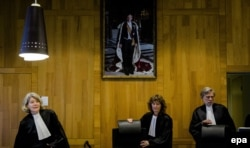 Рассмотрение дела ЮКОСа в Арбитражном суде в Гааге, 9 февраля 2016 года