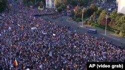 Бухарестехь протестан акцехь гулбелла нах