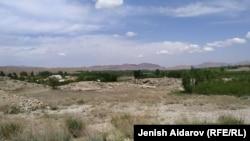 После конфликта на кыргызско-таджикской границе в Кок-Таше 9 мая 2020 года. Кыргызстан, Баткен.
