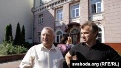 Ёсіф Сярэдзіч і Анатоль Лябедзька