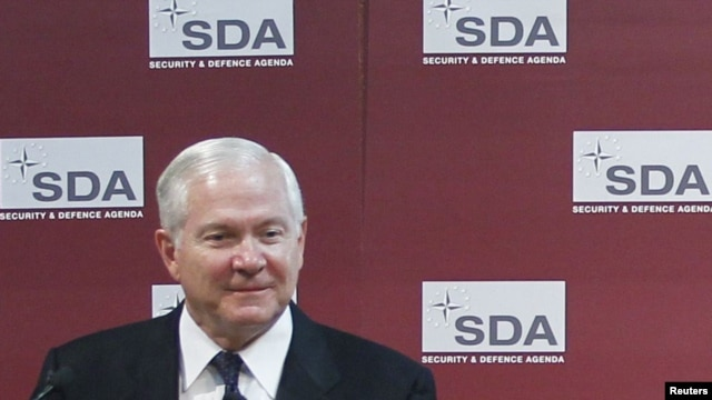 Speaking at a Brussels think tank, U.S. Secretary of Defense Robert Gates questioned the future of the NATO alliance.