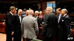 وزیران خارجه اتحادیه اروپا روز دوشنبه در بروکسل