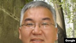 Kyrgyzstan -- Mars Sariev, the political scientist, undated
