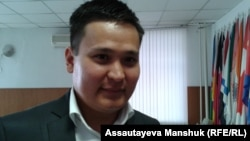Руслан Анарбеков, адвокат. Алматы, 22 октября 2013 года.
