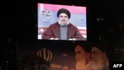 حسن نصرالله، رهبر گروه حزب الله لبنان