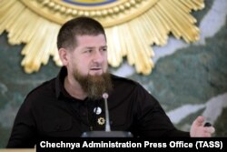 Kadyrov was shown chairing a meeting in Grozny on May 26 for the first time since his hospitalization.