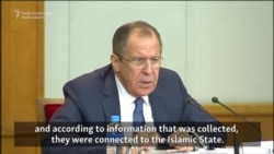 Russia's Lavrov Says Islamic State Militants Trained in Georgia