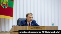 Fostul lider transnistrean Evgheni Şevciuk. 10 octombrie 2016