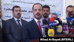 Iraqi Education Minister Muhammad Tamim (file photo)