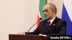 Министр образования и науки Татарстана Энгель Фаттахов