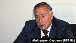 Экс-глава спецслужб Таджикистана Саидамир Зухуров