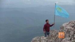 В годовщину депортации крымские татары поднялись на гору Чатыр-Даг