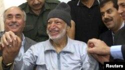 Ясир Арафат незадовго до смерті