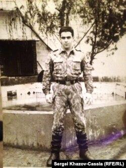 Мурат Карданов в армии