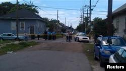 Место преступления. Новый Орлеан, Луизиана, США, 12 марта 2013 года