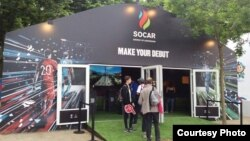SOCAR-ın sərgisi, Fransa, iyun, 2016 (Euro-2016)