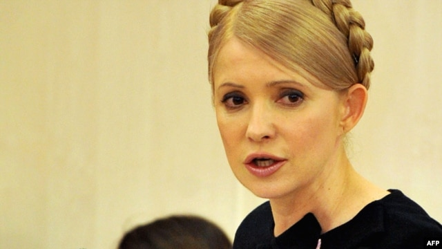 Former Ukrainian Prime Minister Yulia Tymoshenko speaks during a sitting of the Higher Administrative Court in Kyiv in February 2010.