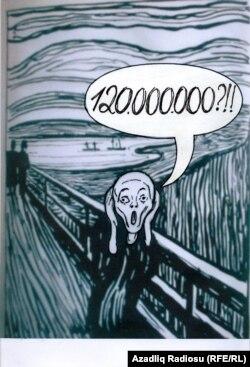 Rəşid Şərifin karikaturası (Haray)