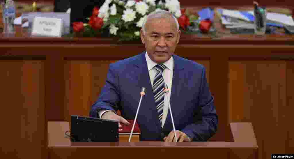 Кубанычбек Жумалиев возглавлял правительство с 14 марта 1998 года по 23 декабря 1998 года.