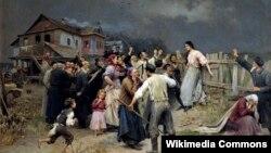 Мікалай Піманенка, «Ахвяра фанатызму» (1899).