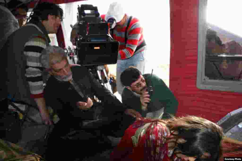 ابراهیم سعیدی در حال ساخت فیلم ماندو