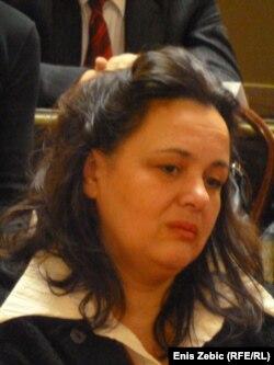 Suzana Ritz, majka ubijenog Luke na dodjeli nagrade, 16. studeni 2011.