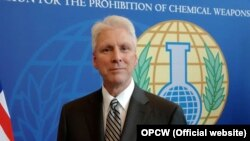 Kenneth Ward, the U.S. envoy to the Organization for the Prohibition of Chemical Weapons (file photo)